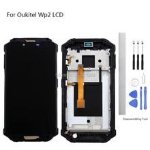 表示画面交換のため OUKITEL WP2 Lcd タッチスクリーン 6.0 インチ用 OUKITEL なし WP2 液晶タッチスクリーン Lcd フレーム