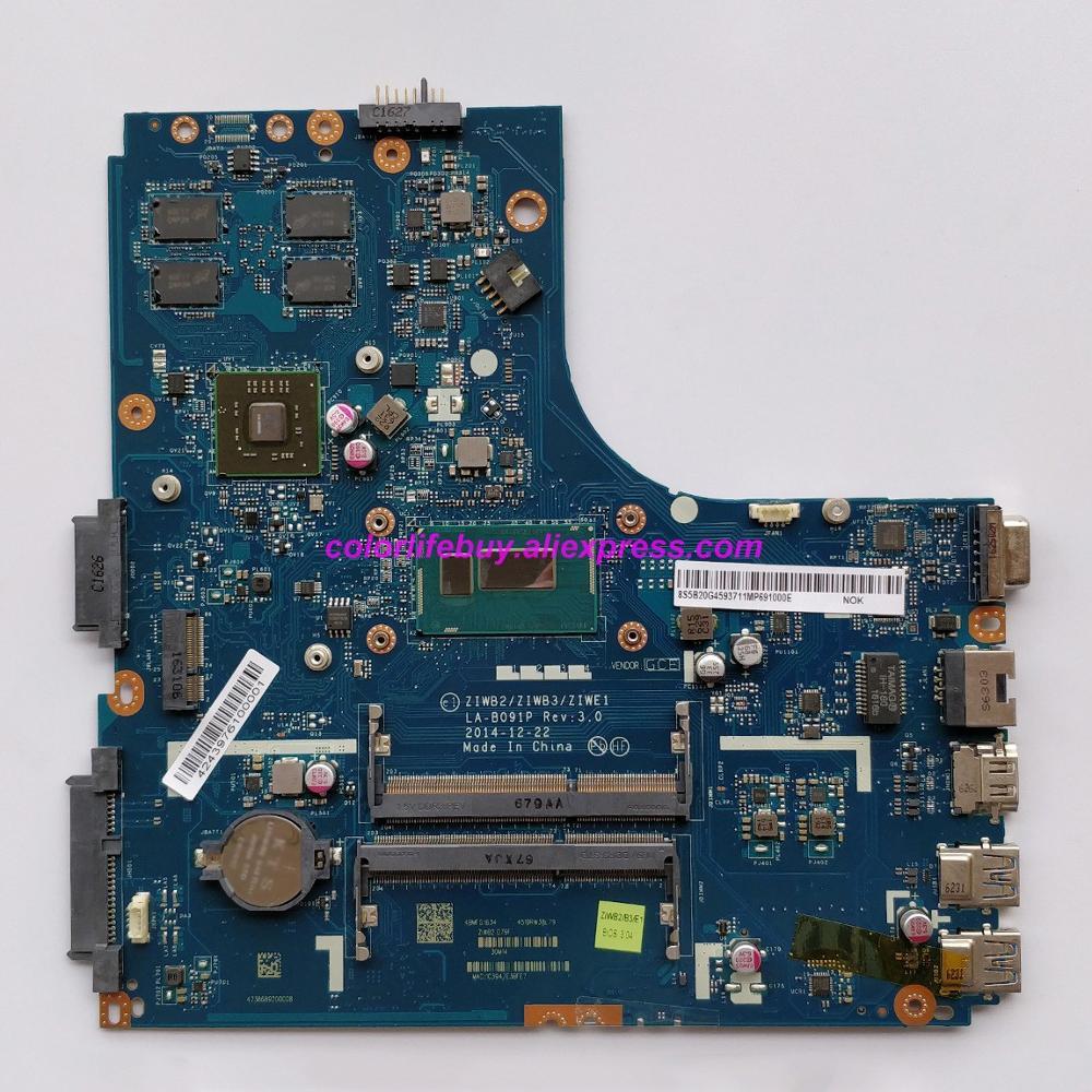 Подлинная 5B20G45937 LA B091P w SR1EN I3 4030U w 216 0856050 GPU Материнская плата ноутбука для lenovo B40 70 ноутбук ПК-in Материнская плата для ноутбука from Компьютер и офис
