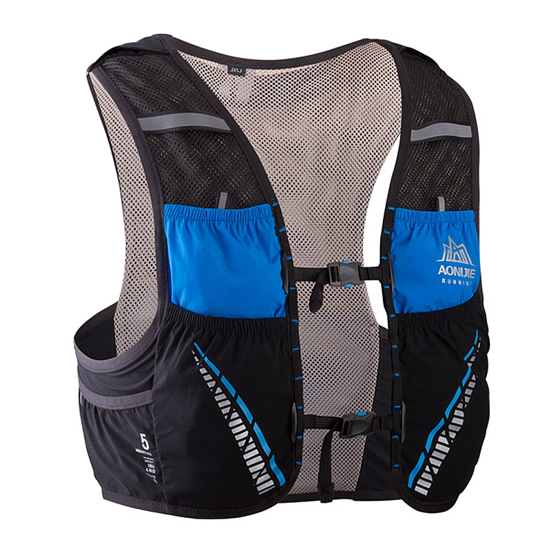 AONIJIE Hydration Backpack 5L Running Marathon Race Climbing Vest Harness Water Bladder Hiking Camping Marathon Race