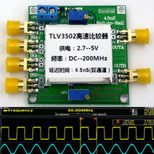 TLV3502 Dual channel High - Speed Comparator 4.5-ns, Rail-to