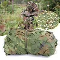 Anti UV Sunshade Cloth Net 10x1.5m Woodland Camouflage Military Netting Army Camo Hunting Hide Camping Cover Garden Patio