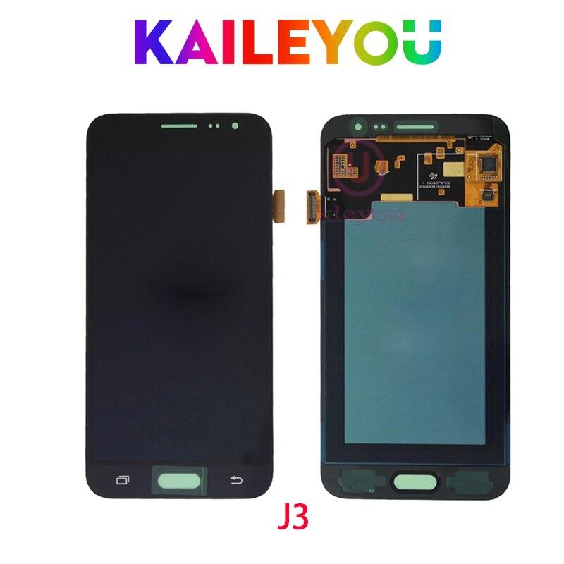 5 0 ORIGINAL LCD for SAMSUNG Galaxy J3 2015 LCD Display J300 J300F J300H Touch Screen