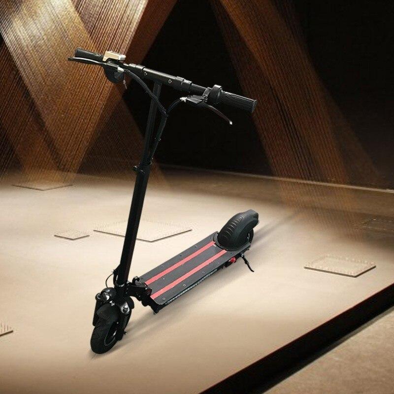 10 pouces double entraînement vélo électrique vélo Mini pliant skateboard adulte scooter ebike 2 moteurs