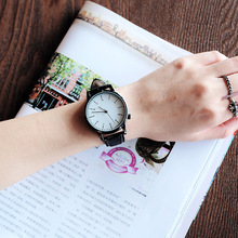 цена Women Watches Lady Quartz Watch Women Fashion Casual Leather Strap Auto Wristwatch Lover Clock Gift For Men Women  reloj mujer онлайн в 2017 году
