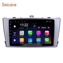 Seicane Автомобильный GPS; Мультимедийный проигрыватель радио для 2009 2010 2011 2012 2013 Toyota AVENSIS 9 дюймов 8-core Android 8,1 2Din головное устройство