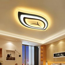 Modern Led Ceiling Lights Lamps Living Room Light LED Ceiling Lamps Fixture Leaf Shape Lamparas De Techo Abajur Kitchen Fixtures 2018 ins new led animal shape snail ceiling lamps kid children living room decoration led lamp ceiling design ceiling lamps