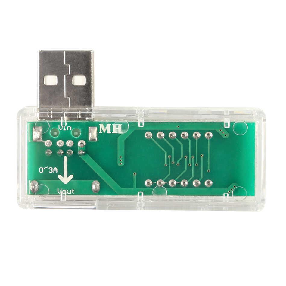Mini USB testeur chargeur docteur voltmètre ampèremètre électronique intelligente numérique USB Mobile puissance de charge courant compteur de tension