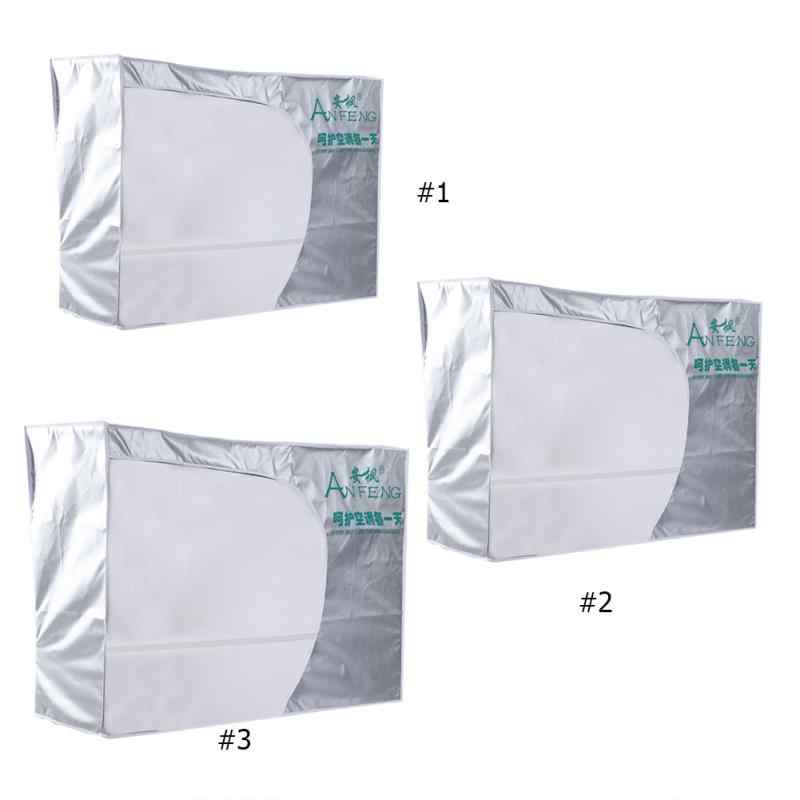 Outdoor Air Conditioner Cover Anti-Dust Anti-Snow Waterproof Cleaning Cover Washing Anti-Dust Anti-Snow Cleaning Cover