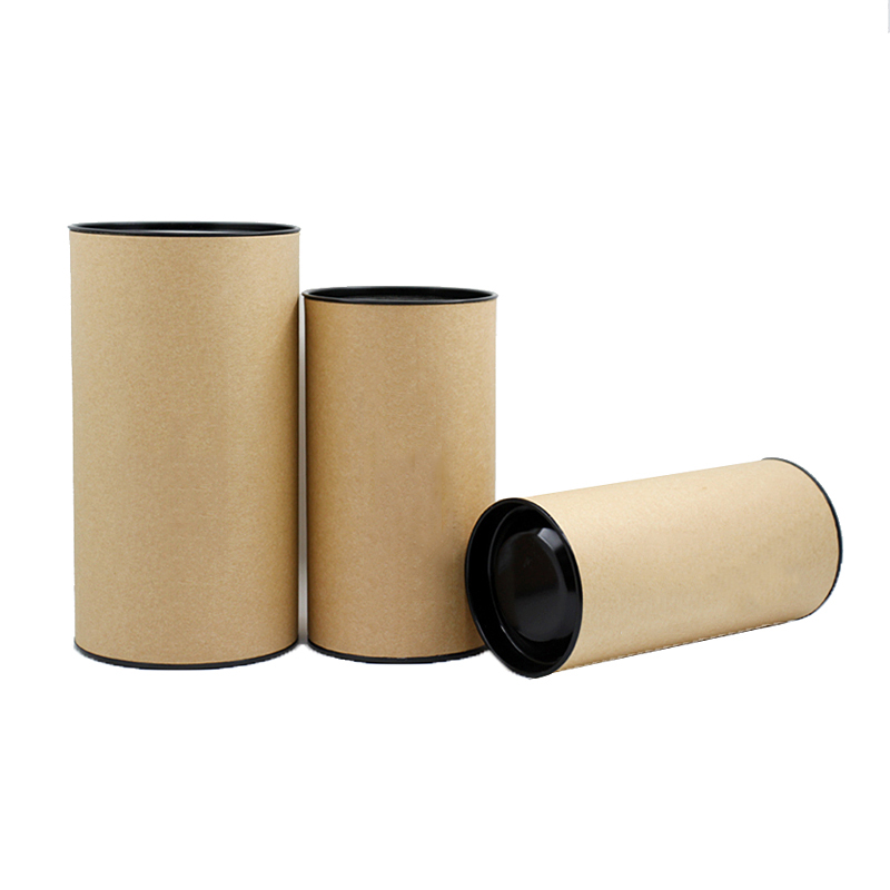 Xin Jia Yi Packaging Craft Paper Box Flower Gift With Compartments Round Shape Loose Tea Black Champagne Flute Gift Paper Box