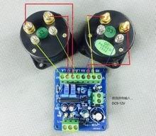 Dc 12v amplificador de potência vu medidor placa motorista db medidor de nível áudio vu cabeçalho driver board alto falante ta7318p denon