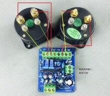 Dc 12v電源アンプvuメーターdbオーディオレベルメーターvuヘッダドライバボードスピーカーTA7318P denon