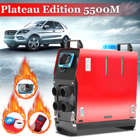 All In One 5000W Air diesels Heater 5KW 12V Car Heater For Trucks Motor Homes Boats Bus +LCD Switch + English Remote control