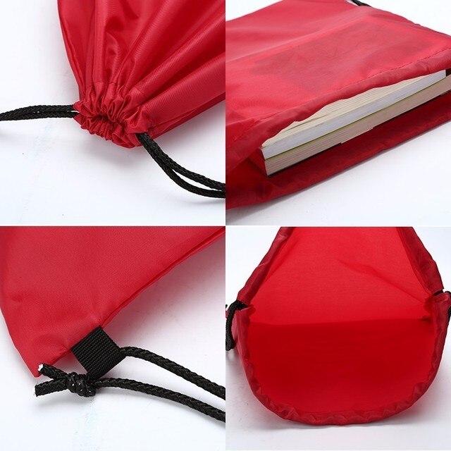 Zackpack Drawstring Bag Sports Waterproof Backpack Bundle Pocket Custom Printing Logo for Men Women Students 1