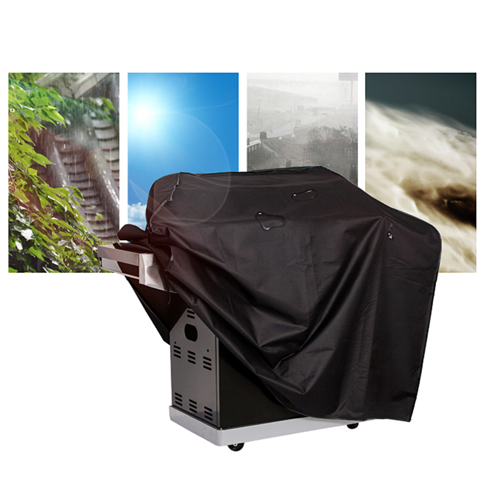 BBQ Cover Waterproof BBQ Grill Cover Round/Square Heavy Duty Gas Charcoal Electric Barbe Outdoor Barbecue Cover/Accessories