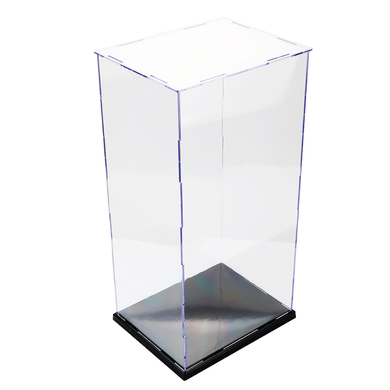 Image 2 - Dust Proof Display Case Toy Assembled Acrylic Plastic Transparent Display Box For Action Figures Building Kits Toys For AdultModel Accessories   -