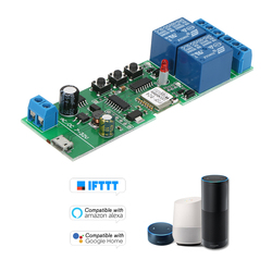 Универсальный модуль умный Wifi переключатель 2CH USB DC5V/7-32 V беспроводной переключатель таймер телефон приложение дистанционное управление По...