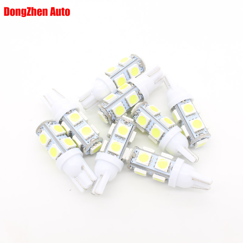 Automobiles & Motorcycles Car Lights 10x 24v Auto W5w T10 9 Led Side Wedge Cargo Bulb Light Car 5w5 Dome Festoon C5w C10w Packing Led License Plate Drl Light Pleasant In After-Taste