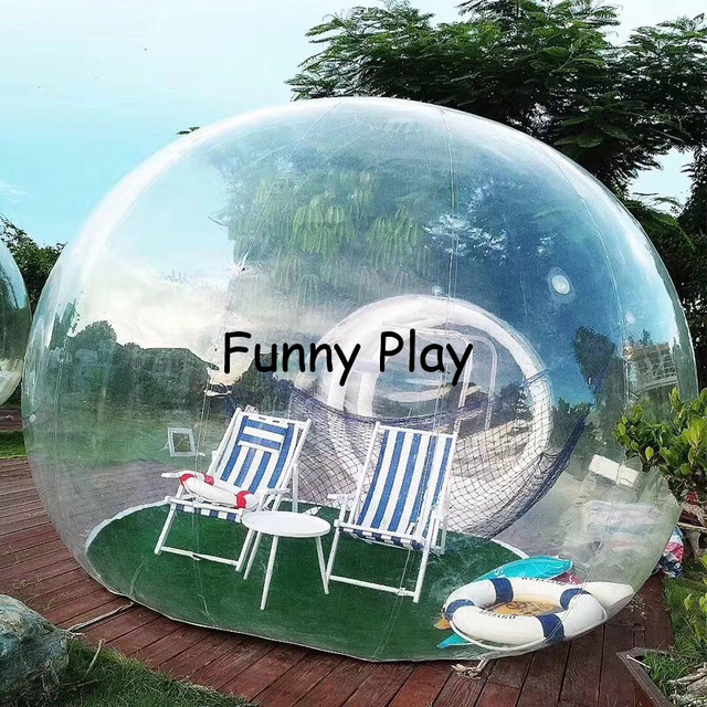 transparent inflatable bubble camping tent Hot sale brand new install convenient outdoor booth tents namioty bubble tent