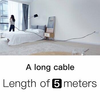 5 M/16Ft USB כבלים עבור iPhone 8 7 6 6 s 2A מהיר טעינת כבל הפיך עבור אפל iPhone מטען Xs X ארוך כבל נתונים כבל סנכרון|כבלים לטלפון נייד|   -
