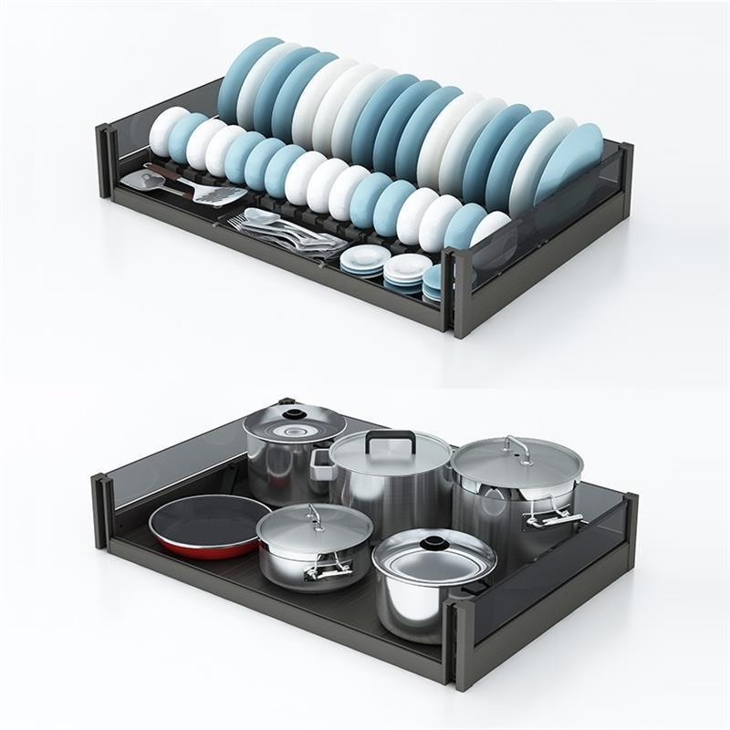 Cupboard Storage Alacena Almacenaje Armario Platos Cozinha Cocina Cuisine Kitchen Cabinet Cestas Para Organizar Basket