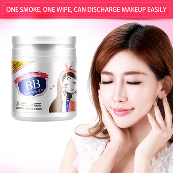 100 Sheets Makeup Remover Wet Wipes Face Eye Deep Cleansing Cotton Pads Moisturizing Skin Care Travel Essential
