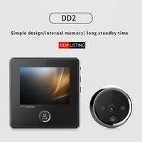 Smart Electronic Door Viewer Digital Door Camera Doorbell Anti burglary WIFI Visual Doorbell Peephole Viewer Door Eye