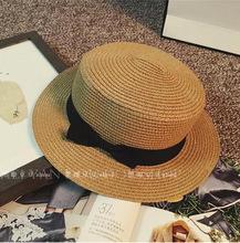 Moda hawajski słomkowy kapelusz słońce kapelusz słodkie kobiety kapelusze przeciwsłoneczne łuk ręcznie robiony kobiety słomiany kapelusz plaża duży kapelusz dorywczo dziewczyny kapelusz na lato tanie tanio Dla dorosłych COTTON Papier Poliester Rayon Akrylowe Faux futra Skóra Z wełny Słomy Linen SILK WOMEN beige Formalne