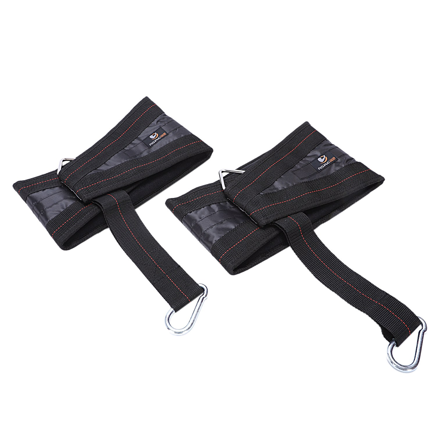 Cheap Price Fitness Padded Hanging Ab Straps Pull Up Abdominal Belt Cross Fit Belly 2-pack Pullup Carver Gym Workout Training Equipment