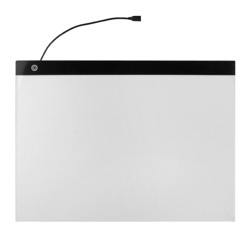 Tablette graphique numérique A3 LED pour dessin panneau d'affichage panneau de copie