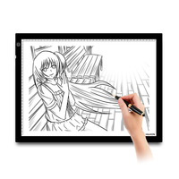 Huion A3 LED Light Pads Professional USB Tracing Board Animation Handwriting Adjustable Illumination Light Boxes for Artists