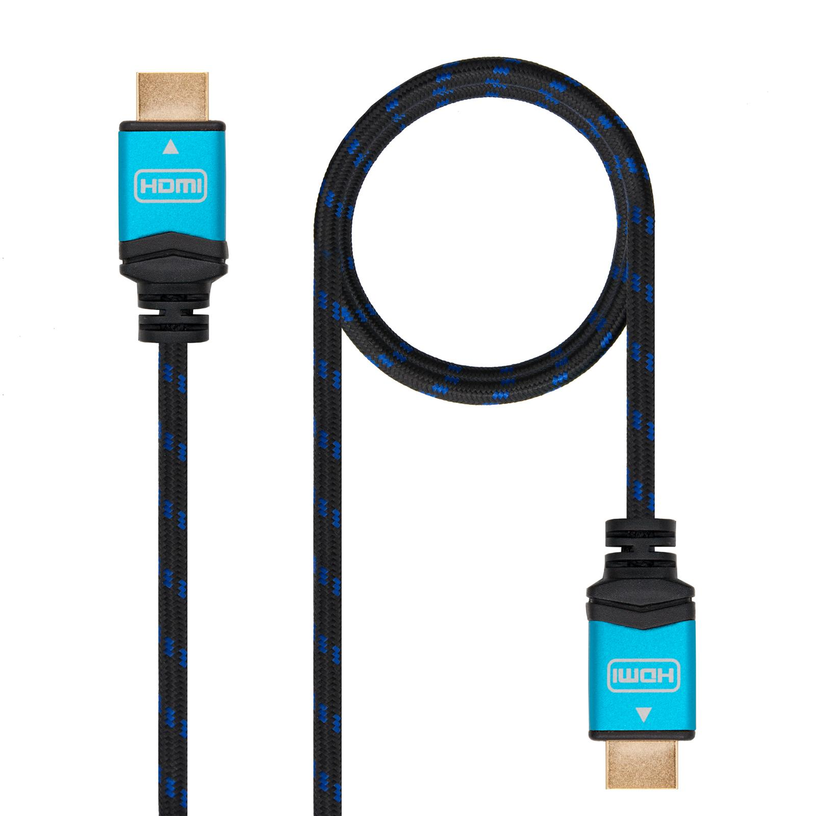 Cable HDMI TO HDMI 0,5 M HDMI V2.0 4k @ 60Hz 18gbps 10.15.3700