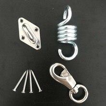 U образный потолочный крючок для йоги, гамак, подвесные аксессуары, 304 нержавеющая сталь, супер безопасный крепкий подвесной крюк для стула