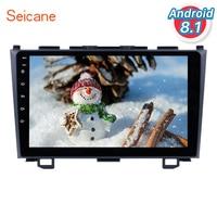 Seicane 9 Inch HD Touchscreen Radio Android 8.1 Head Unit For 2006 2011 Honda CRV Car Stereo GPS Navigation Bluetooth WIFI SWC