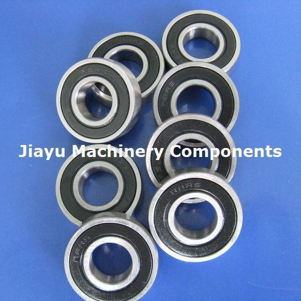Free Shipping 10 PCS R8-2RS Bearings 1/2 X 1 1/8 X 5/16 Inch Radial Ball Bearings R8 RS