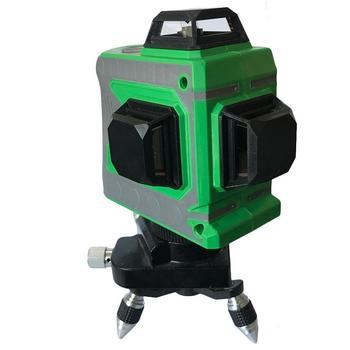 12 linien 3D Ebene Selbst Nivellierung 360 Horizontale Und Vertikale Kreuz Super Leistungsstarke Grün Laser Strahl Linie #40