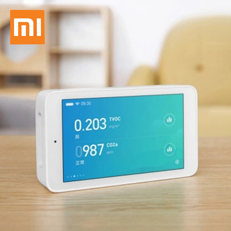 Xiaomi Youpin Intelligent Linkage 3 High-precision Humidity Sensors Air Detector 3.97 Touch screen Remote Monitoring PM2.5 CO2aXiaomi Youpin Intelligent Linkage 3 High-precision Humidity Sensors Air Detector 3.97 Touch screen Remote Monitoring PM2.5 CO2a