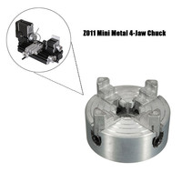 WOLIKE Metal 4 Jaw Lathe Chuck for Metal Mini Lathe Threaded Back 1.8~56mm/12~65mm Mini Collet Lathe Accessories