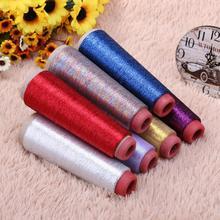 Блестящая Вышивка крестом пряжа швейная нить тканая Вышивка Вязание полиэстер Вышивка крестом Швейные нитки швейные инструменты принадлежности