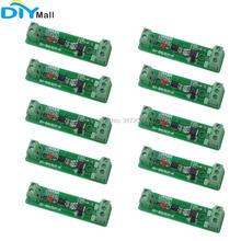 10 шт./лот 24 В 1 канальный изоляционный модуль оптрона, плата релейного драйвера для устройства управления PLC