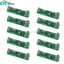 10 قطعة/الوحدة 24 V 1 قناة Optocoupler العزلة وحدة التتابع لوحة للقيادة ل آلة تعبئة عصير برتقال بنظام PLC جهاز