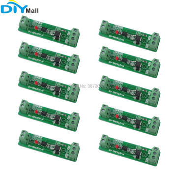 цена на 10pcs/lot 24V 1 Channel Optocoupler Isolation Module Relay Driver Board for PLC Control Device