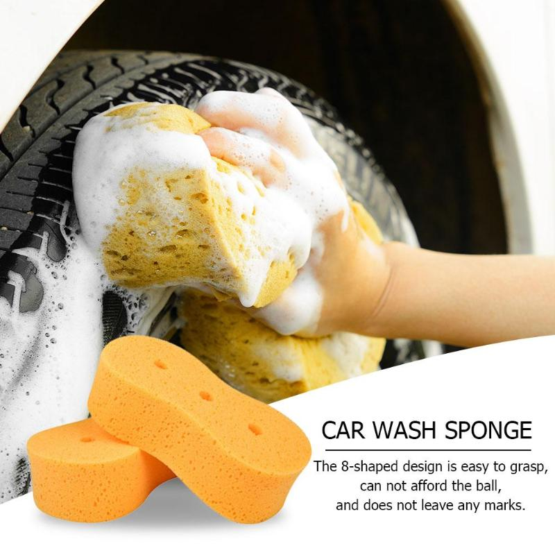 Household Cleaning Tireless 1pc Car Wash Sponge 3 Holes Coral Sponge Macroporous Car Auto Washing Cleaning Sponge Block Honeycomb Car Bicycle Cleaning Cloth Outstanding Features