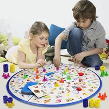 Ttnight детская головоломка Монтессори обучающая игра малыш детективы смотреть диаграммы доска пластиковая головоломка Тренировки Мозга игрушки для детей