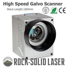 High Speed Galvo Scanner Head For Fiber Laser Marking Machine Parts 1064nm Input 10mm SG7110 Galvanometer with Power Supply Set
