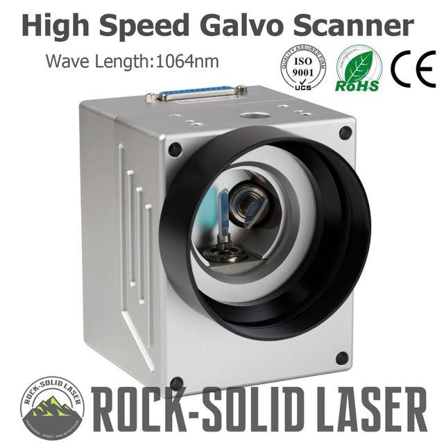 High Speed Galvo Scanner Head For Fiber Laser Marking Machine Parts 1064nm Input 10mm SG7110 Galvanometer with Power Supply Set