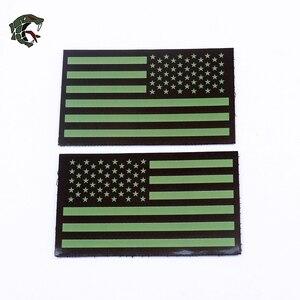 """Военный Патч """"команда уплотнения/DEVGRU/ACU/IR Флаг США"""" армейский военный значок патч Armlet/значок/наплечный патч"""