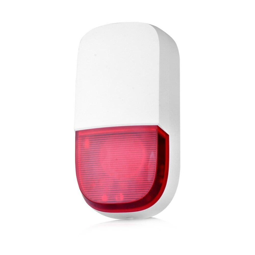 Smarsecur Outdoor Wireless Flashing Siren Strobe Light Siren For H6 Home Alarm Security SystemSmarsecur Outdoor Wireless Flashing Siren Strobe Light Siren For H6 Home Alarm Security System
