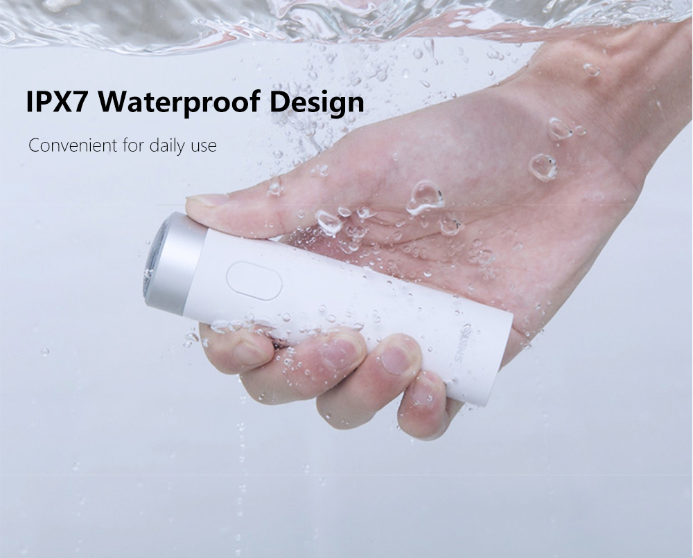 Xiaomi Smate máquina de afeitar eléctrica Flex de afeitar recargable seco  mojado máquina de afeitar para hombres IPX7 lavable tres hoja Comfy Clean en  ... b3700e4c049f
