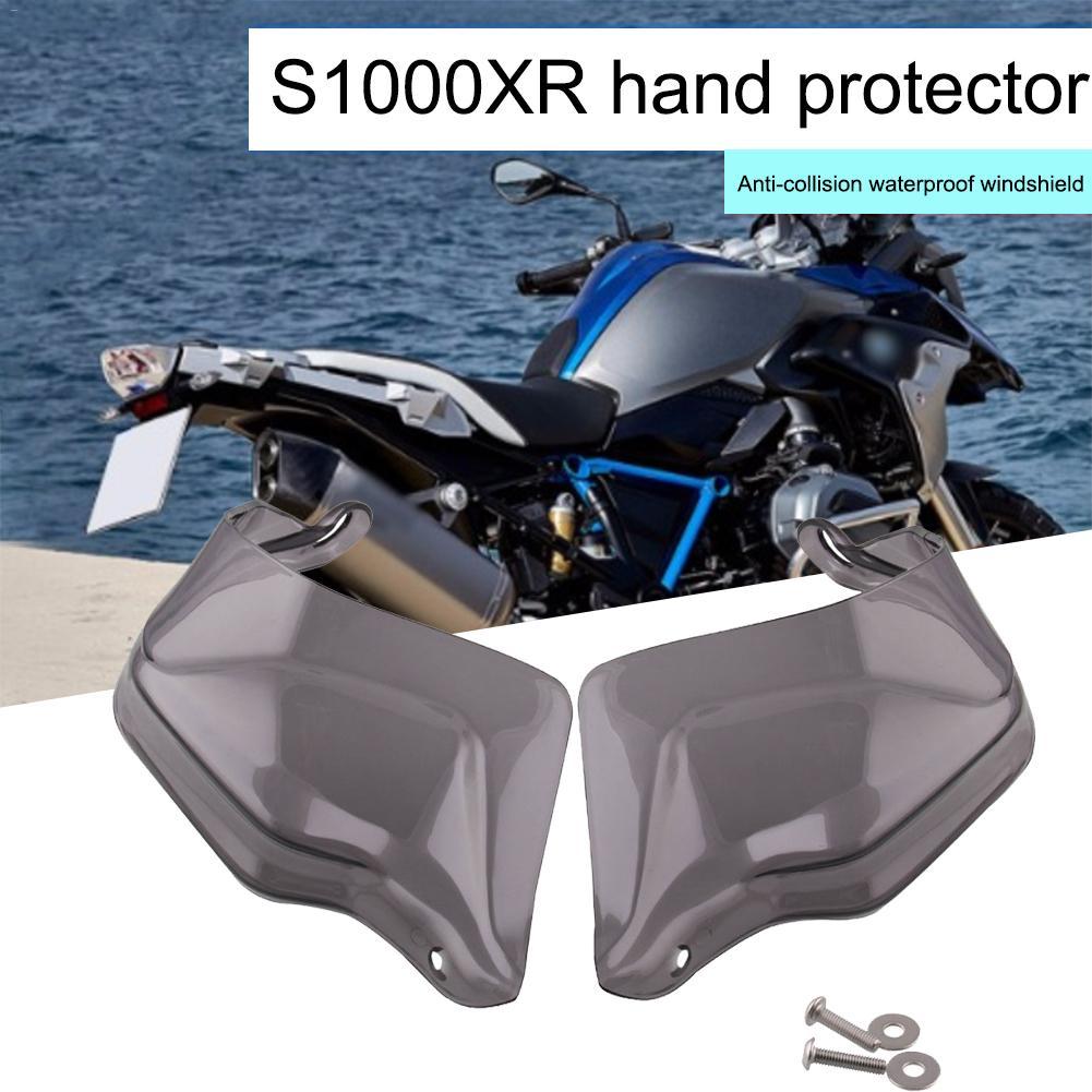 Para BMW R 1200 GS Parabrisas ADV R1200GS LC F 800 GS Adventure S1000XR R1250GS motocicleta Guardamanos Mano escudo protector Color : Grey