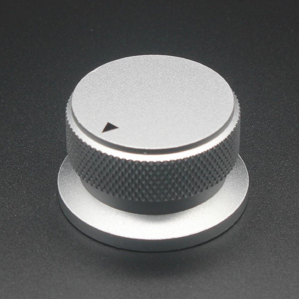 Aluminium Alloy Potentiometer Knob  Oven  Electric Appliance  Audio Amplifier  Adjusting Knob 34 x 20mmAluminium Alloy Potentiometer Knob  Oven  Electric Appliance  Audio Amplifier  Adjusting Knob 34 x 20mm